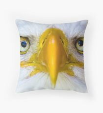 Look into My EYES! Throw Pillow