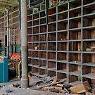 Pillars and Empty Shelves by Steven Godfrey