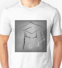 graduation cap Unisex T-Shirt