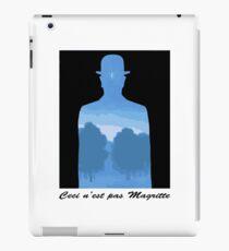 Ceci n'est pas Magritte iPad Case/Skin