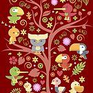 Tree Of Cute by artlahdesigns