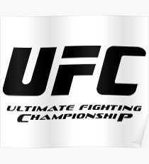 UFC Ultimate Fighting Championship Poster