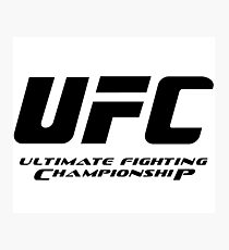 UFC Ultimate Fighting Championship Photographic Print