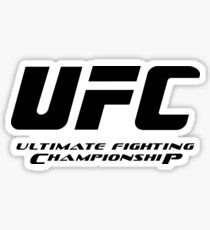 UFC Ultimate Fighting Championship Sticker