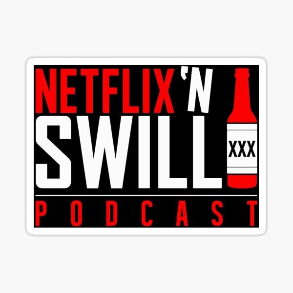 Netflix 'N Swill Logo Sticker