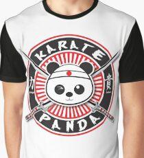 Karate Panda Strength & Honor Graphic T-Shirt