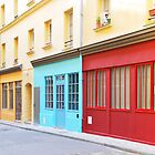 Colored Alsace Lorraine, Paris by chezjulie
