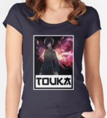 Touka Tokyo Ghoul v3 Women's Fitted Scoop T-Shirt