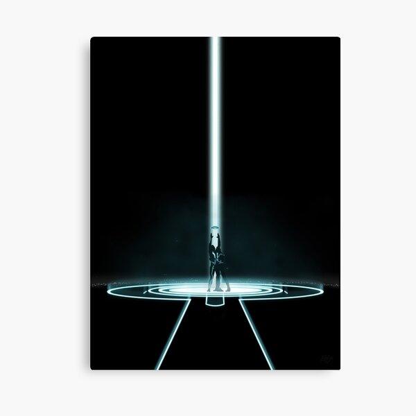 Tron Portal Canvas Print