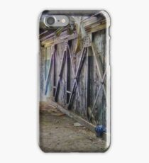 The Light at the End of the Breezeway iPhone Case/Skin