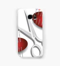 scissors, needles and pins Samsung Galaxy Case/Skin