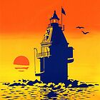 Ship John Shoal Light, Delaware Bay, NJ by James & Laura Kranefeld