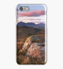 Assynt Sunset iPhone Case/Skin