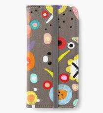 Happy Meadow Brown iPhone Wallet/Case/Skin