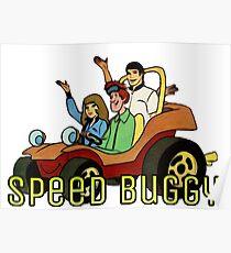 Speed Buggy Hanna-Barbera Poster