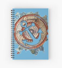ANCHORS AWAY - BOAT ANCHOR Spiral Notebook