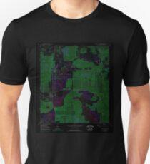 USGS TOPO Map Florida FL Bradley Junction 345280 1949 24000 Inverted Unisex T-Shirt
