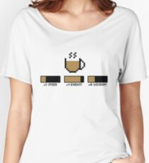 Coffee stats Women's Relaxed Fit T-Shirt