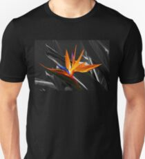 Flower - A Bird In Paradise  Unisex T-Shirt