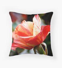 A Single Rose Can Be My Garden...  - Rose Bloom NZ Throw Pillow