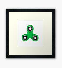 Fidget Spinner  Framed Print