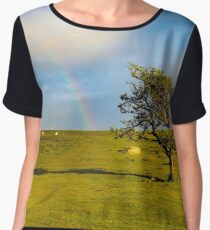 Dartmoor rainbow Chiffon Top