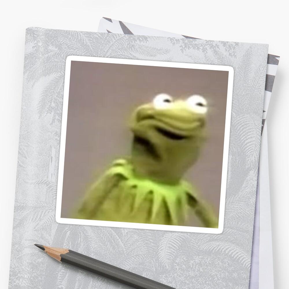 Kermit der Frosch Sticker