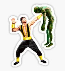 Shang Tsung Lift Sticker