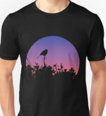 The Sunset Bird Sihlouette Unisex T-Shirt