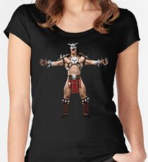 Shao Kahn Women's Fitted Scoop T-Shirt