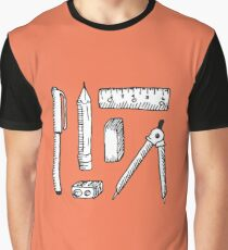 Art Supplies Graphic T-Shirt