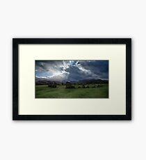 Castlerigg Stone Circle, Cumbria, England Framed Print