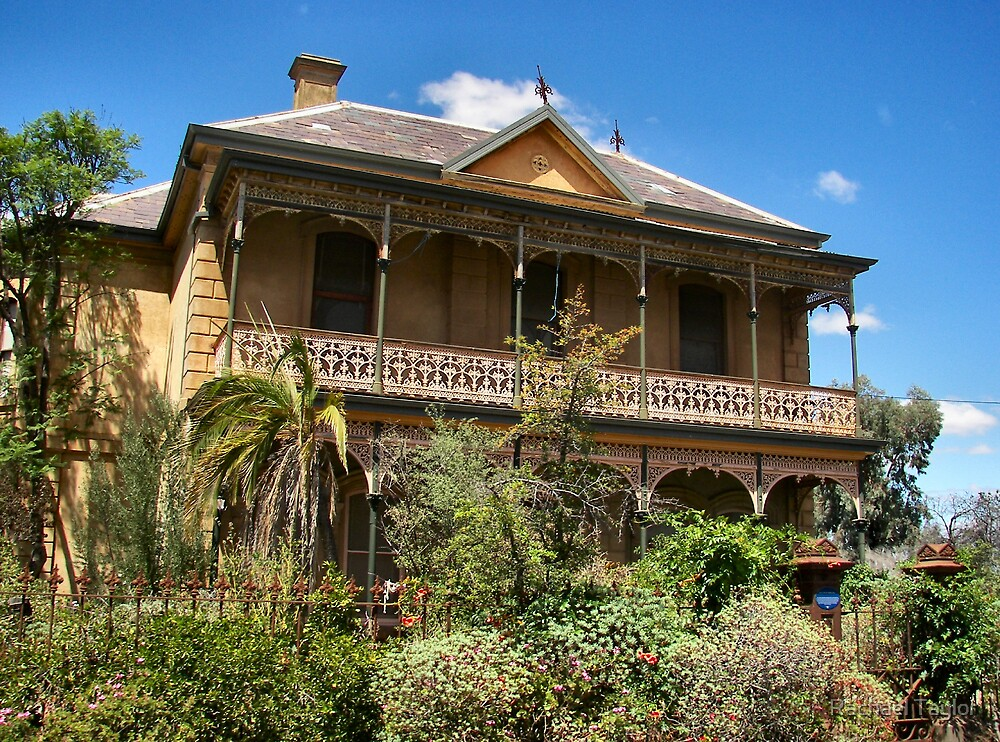 Tivey Mansion - Inglewood Victoria by Rachael Taylor