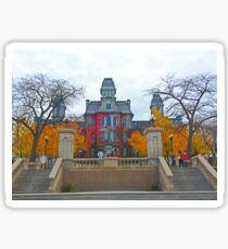 Syracuse University Hall of Languages Sticker