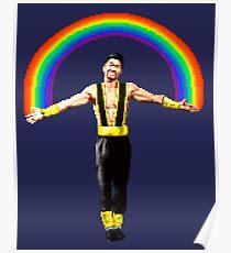 Shang Tsung Rainbow Poster