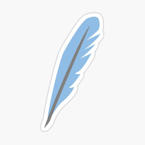 Feather Quill Sticker