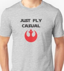 Just, Fly Casual Unisex T-Shirt