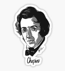 Frederic Chopin composer Sticker