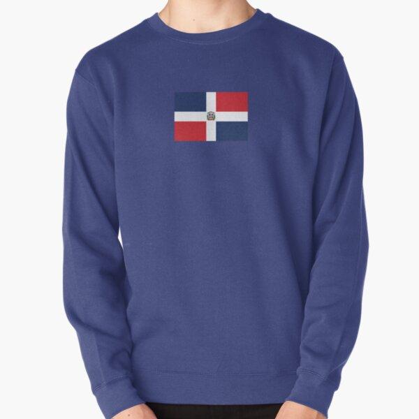 Dominican Republic Flag Pullover Sweatshirt