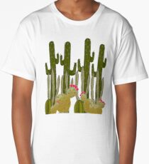 Cactus Sanctuary Long T-Shirt