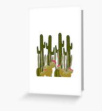 Cactus Sanctuary Greeting Card
