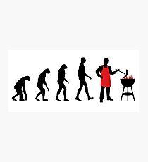BBQ Evolution Photographic Print