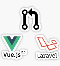 Pack vuejs laravel pull request Sticker