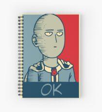 One Punch Man - OK Spiral Notebook
