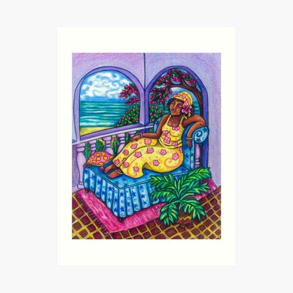 Caribbean Meditation Art Print