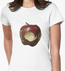 Moriarty's IOU apple - Sherlock Womens Fitted T-Shirt