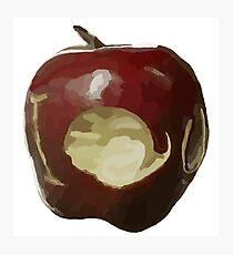 Moriarty's IOU apple - Sherlock Photographic Print