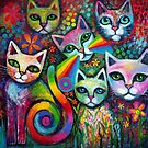 pussicats wip by Karin Zeller
