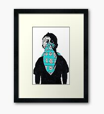 Wall painting - young OG Framed Print