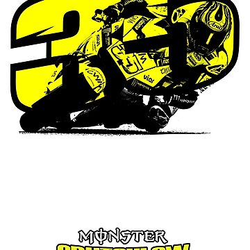 Cal Crutchlow - Monster! by SKELEPUG